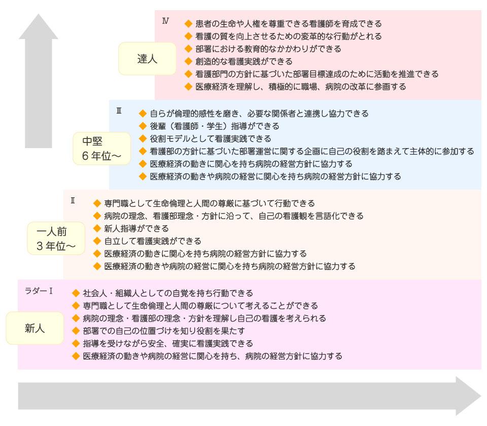 KKRキャリアラダーイメージ図